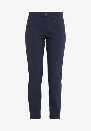 WOMAN LONG PANT - Outdoor trousers - black blue