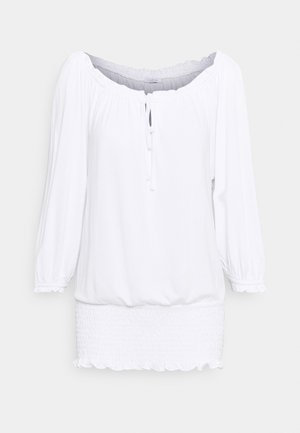 CARMENSHIRT - Long sleeved top - weiss