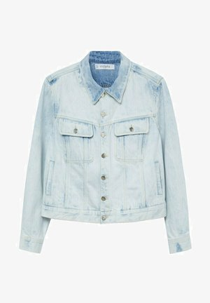 Denim jacket - bleach-blau