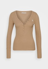 Abercrombie & Fitch - Long sleeved top - tan - 3
