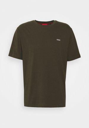 DERO - Jednoduché triko - dark green