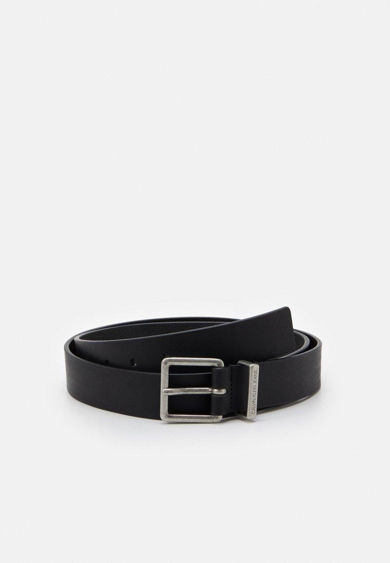 Calvin Klein Jeans - LOOP BELT - Pásek - black