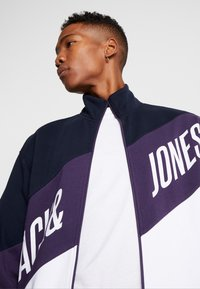 Jack & Jones - JCOHILL ZIP HIGH NECK - Sweatjacke - sky captain - 5