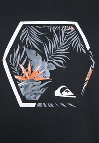 Quiksilver - FADING OUT  - T-shirt con stampa - black - 4