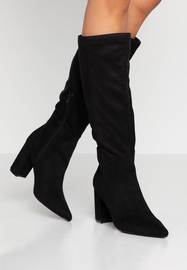 SALI - Korolliset saappaat - black