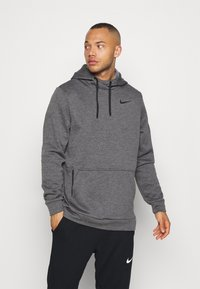 Nike Performance - Sweat à capuche - charcoal heather/black - 0