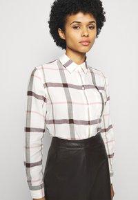 Barbour - WINTER OXER - Button-down blouse - cloud - 3