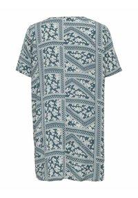 ONLY Carmakoma - CURVY PRINT - Day dress - blue mirage - 1