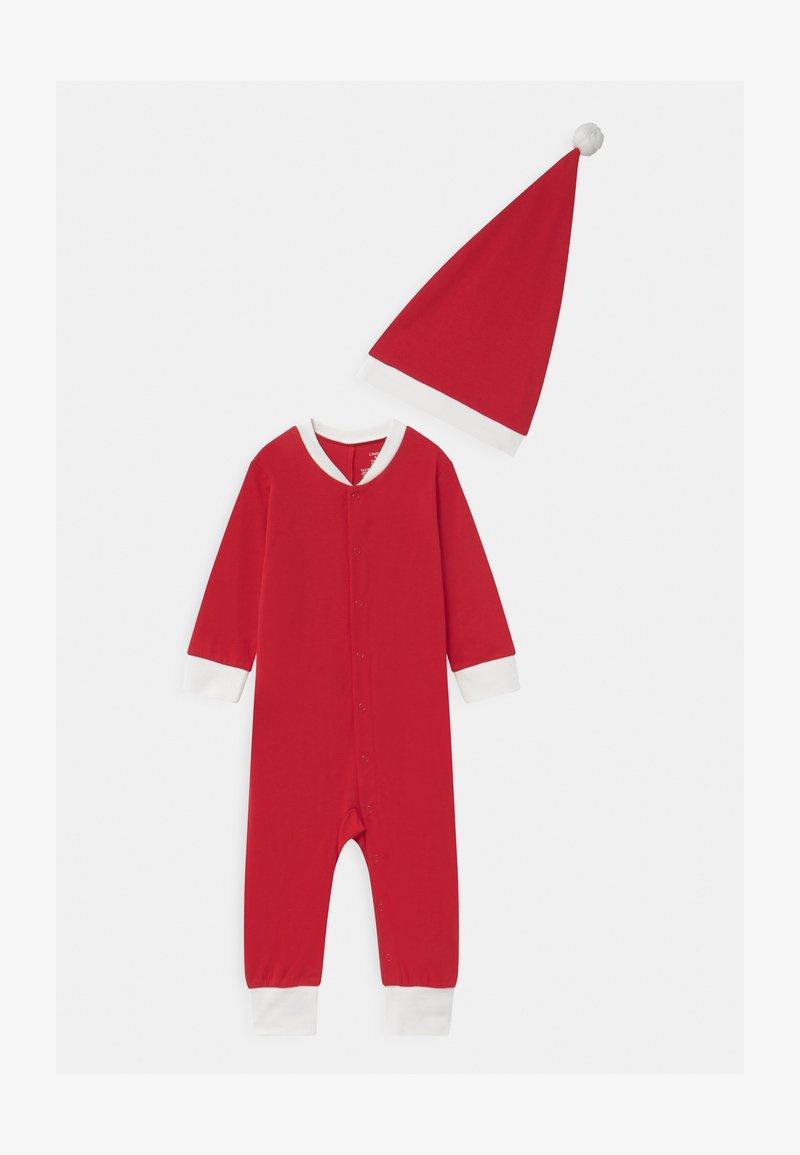 Lindex - ONESIE SANTA UNISEX - Pyjamas - red