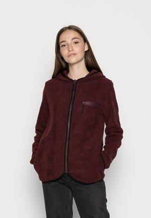 ONLFREJA CONTRAST ZIP JACKET - Fleece jacket - port royale