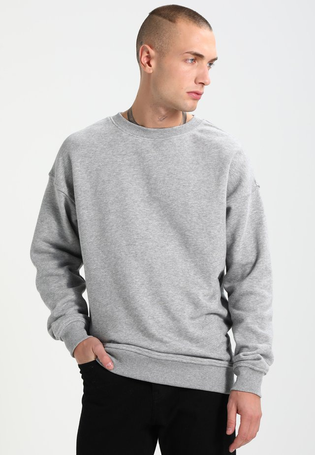 CREWNECK - Collegepaita - grey
