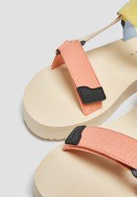 PULL&BEAR - Platform sandals - beige - 5