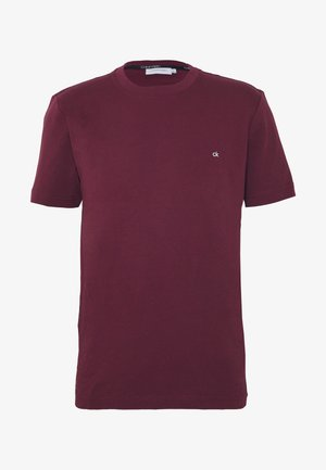 LOGO - T-shirt basic - bordeaux