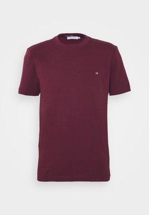 LOGO - T-shirt basique - bordeaux