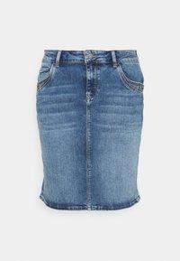 Mavi - RENEE - Denim skirt - blue denim - 0