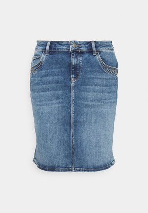RENEE - Denim skirt - blue denim