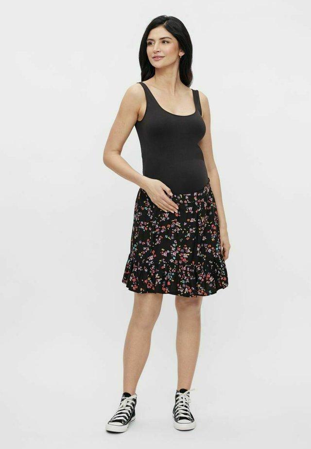 PCMLALA - Mini skirts  - black