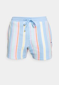 STRIPE SHORT - Shorts - light powdery blue