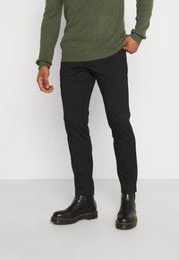 Redefined Rebel - PRINCE PANTS - Pantaloni - black - 0