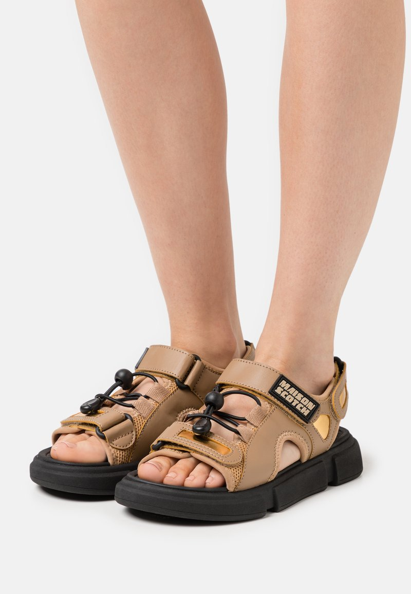 Scotch & Soda - DAISIE SPORT - Walking sandals - gelb