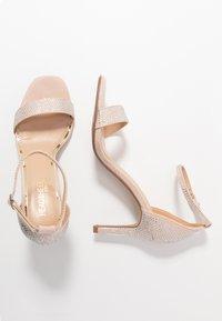 Head over Heels by Dune - MADDI - Sandales à talons hauts - nude/metallic - 3