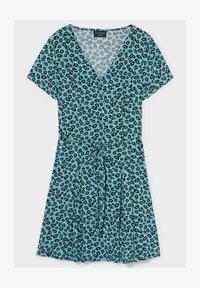 C&A - Day dress - dark turquoise - 2