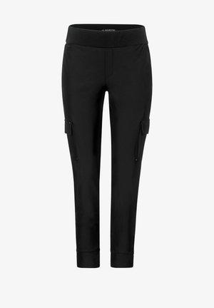 LOOSE FIT HOSE IN CARGO - Cargo trousers - schwarz