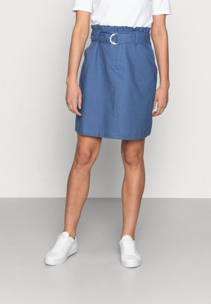 LNLAUREN SKIRT - Jupe trapèze - bijou blue