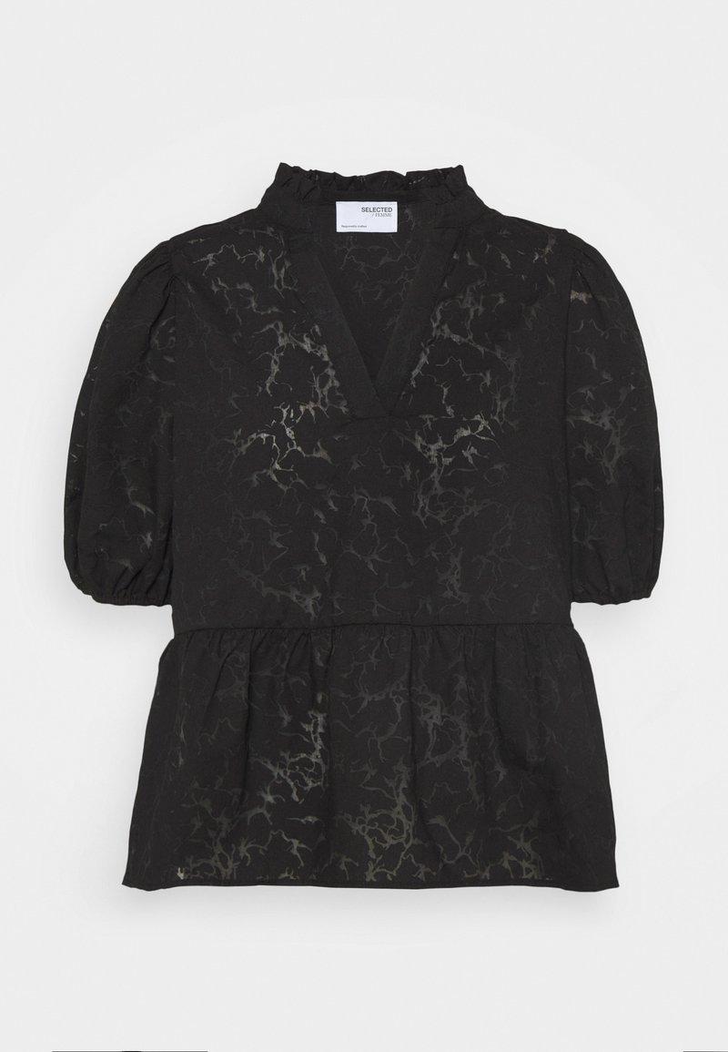 Selected Femme Petite - SLFPERNILLA - Blouse - black