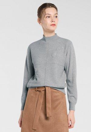 Pullover - hellgrau