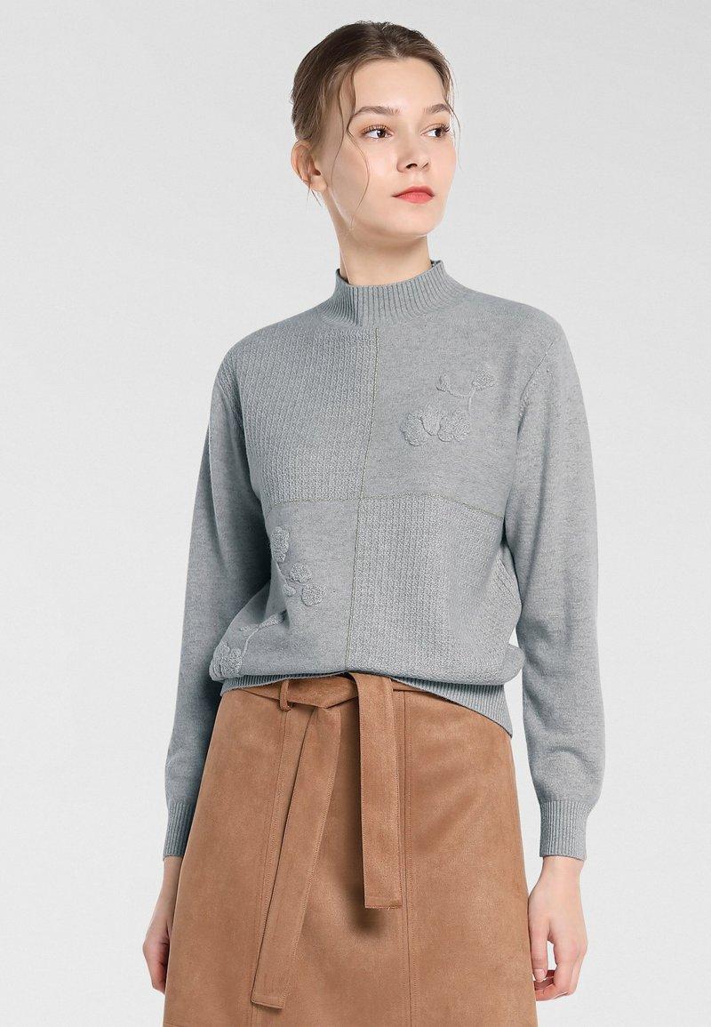 Apart - Pullover - hellgrau