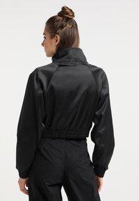 myMo - CROPPED - Light jacket - schwarz - 2