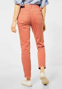 Cecil - Slim fit jeans - orange - 1