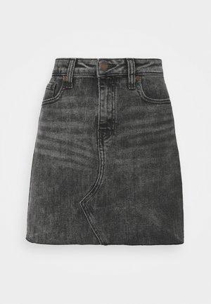 REISSUE WASHED - Minigonna - washed black