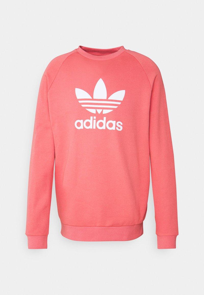 adidas Originals - TREFOIL CREW UNISEX - Sweatshirt - light pink