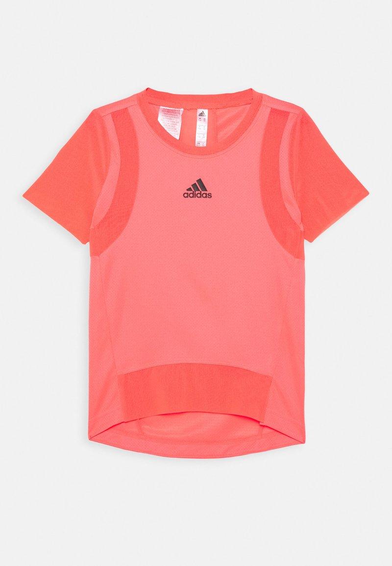 adidas Performance - HEAT.RDY TRAINING SPORTS SHORT SLEEVE TEE - T-shirt print - signal pink