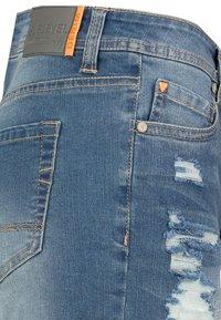Sublevel - Denim shorts - dark-blue - 3