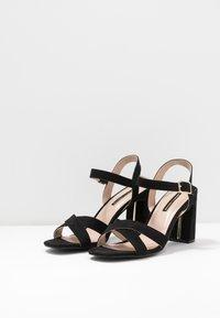 Dorothy Perkins - SELENA BLOCK  - Højhælede sandaletter / Højhælede sandaler - black - 2