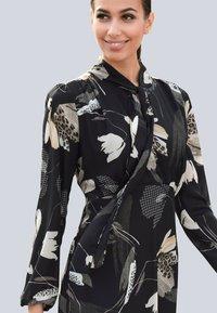 Alba Moda - Day dress - schwarz/creme-weiß - 2