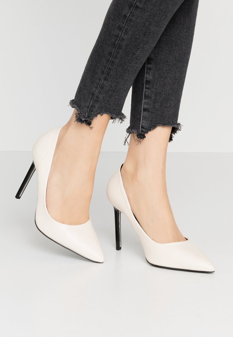 River Island Wide Fit - Decolleté - white