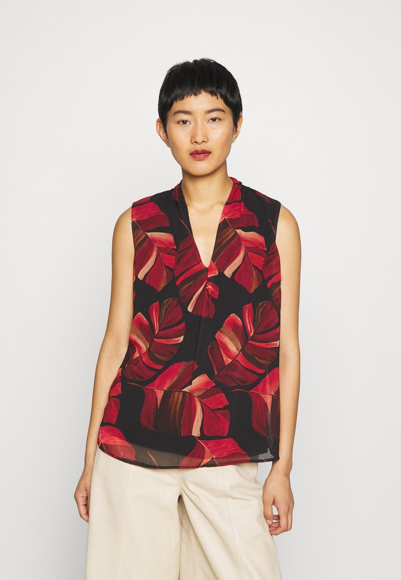 Betty & Co - Blouse - black/red