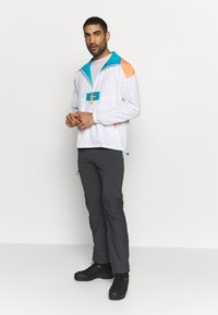 Columbia - SANTA ANA ANORAK - Veste coupe-vent - white/brigt nectar/clear water - 1