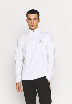 PASCAL - T-shirt à manches longues - black/white