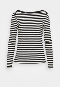 Anna Field - Långärmad tröja - black/white - 5