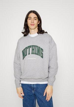 OVERSIZED NOTHING  - Sportinis megztinis - grey