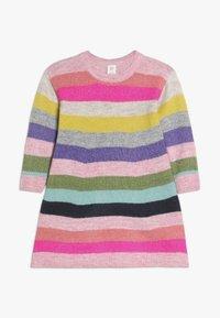 GAP - TODDLER GIRL CRAZY - Gebreide jurk - multi-coloured - 0