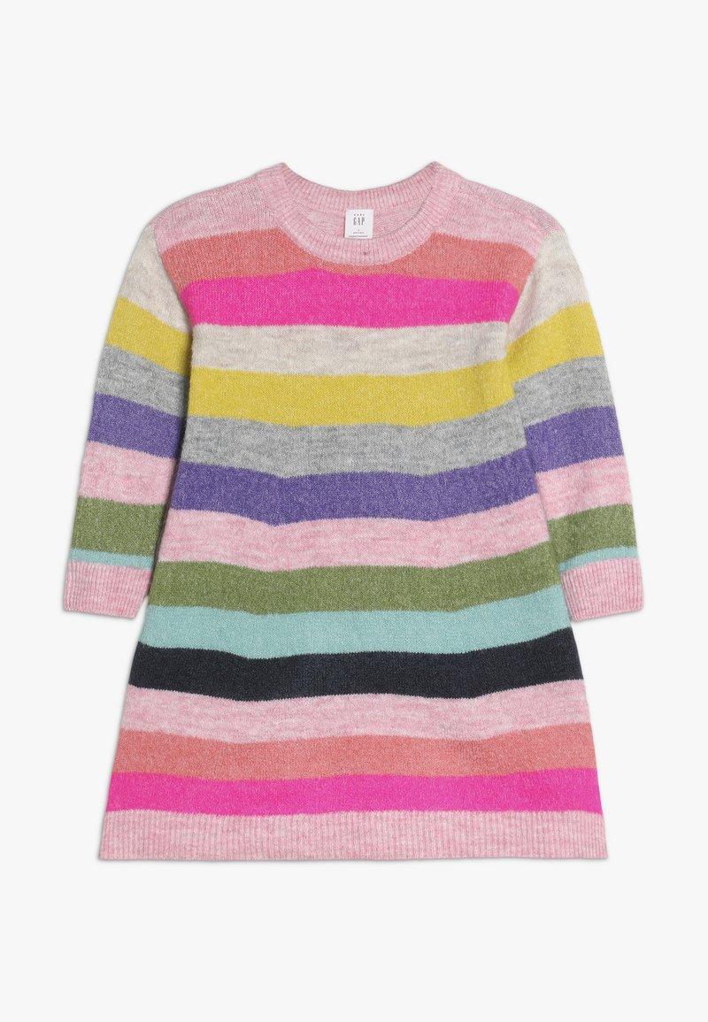 GAP - TODDLER GIRL CRAZY - Gebreide jurk - multi-coloured