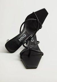 Mango - REESE - Heeled mules - noir - 1