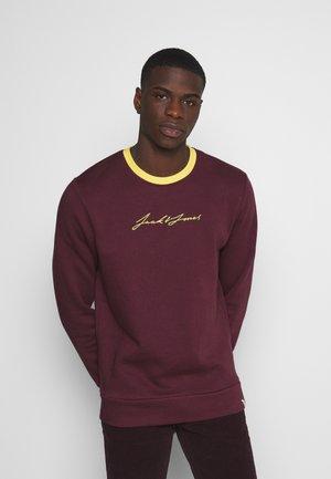 JOROLYMPUS CREW NECK - Sweatshirt - fig