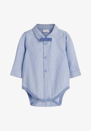 BLUE SHIRT BODY AND BOW TIE SET (0MTHS-3YRS) - Shirt - blue